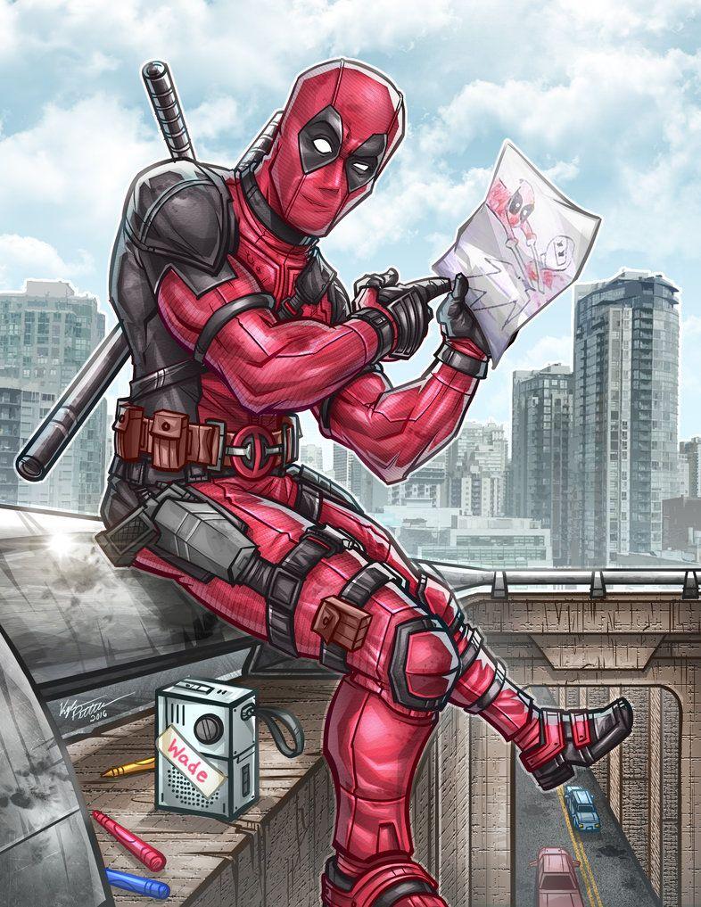 #Deadpool #Fan #Art. (Deadpool Pic) By: Kpetchock. (THE * 5 * STÅR * ÅWARD * OF: * AW YEAH, IT'S MAJOR ÅWESOMENESS!!!™) ÅÅÅ+