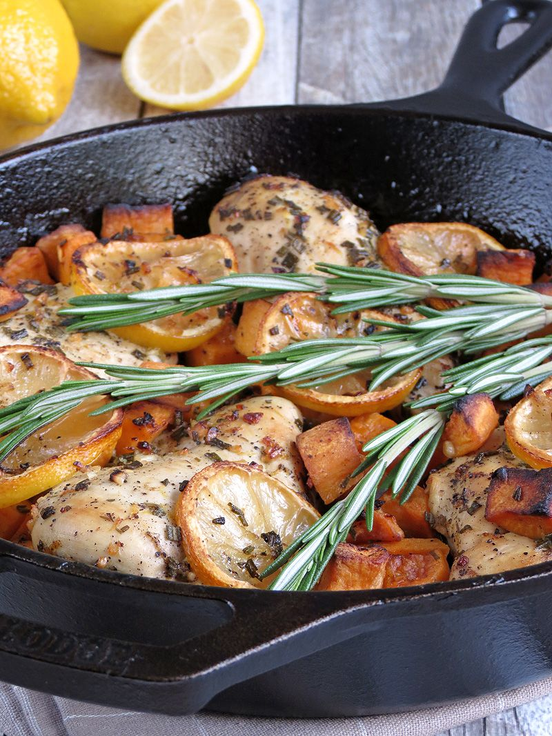 Recipe rosemary chicken potatoes
