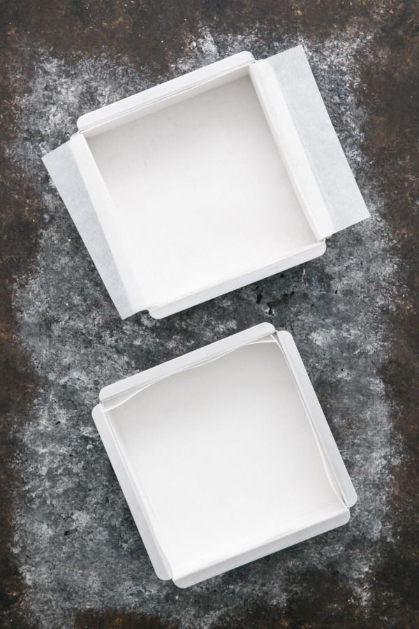 Kitchen Basics Lining A Square Pan With Parchment Paper 2 Ways
