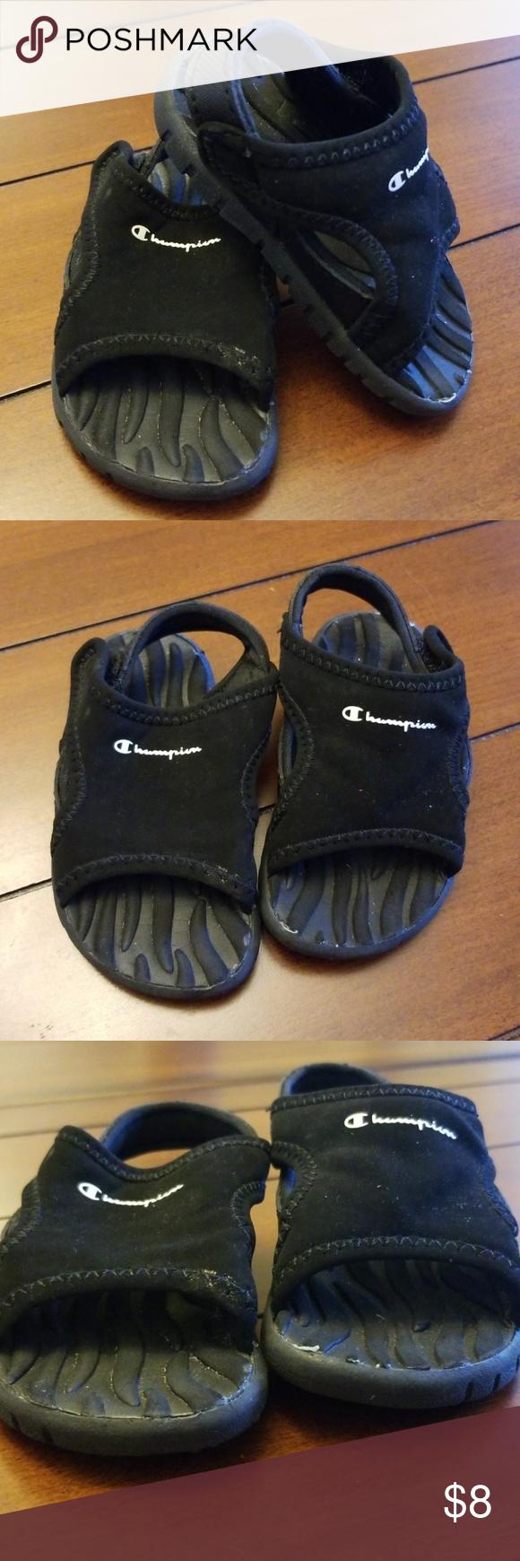 04b553211455 Champion Baby sandals Baby sandals size 3W. Good condition. Velcro straps. Champion  Shoes Sandals   Flip Flops