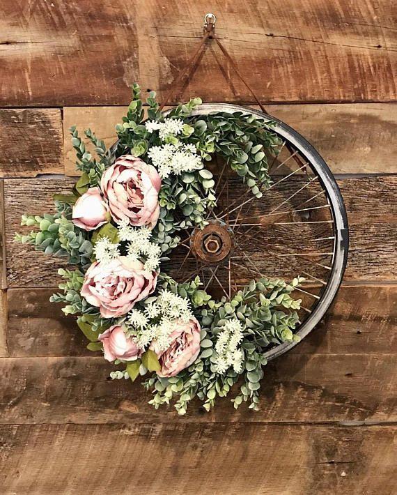 foto de 30 Stunning Summer Wreaths Summer wreath diy