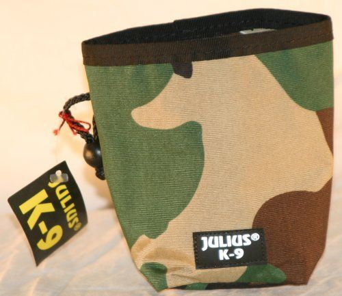 300FB-C Julius K9 snack bag / to train - to requite the dog and keep your trouser pocket clean - color: camouflage - http://www.thepuppy.org/300fb-c-julius-k9-snack-bag-to-train-to-requite-the-dog-and-keep-your-trouser-pocket-clean-color-camouflage/