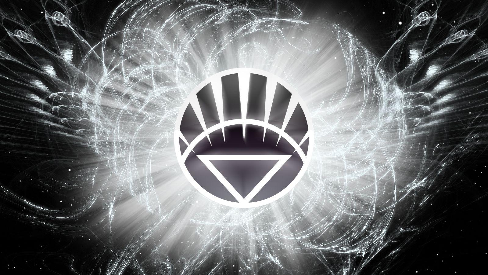 Symbol Of The White Lantern Corps The Green Lantern Pinterest
