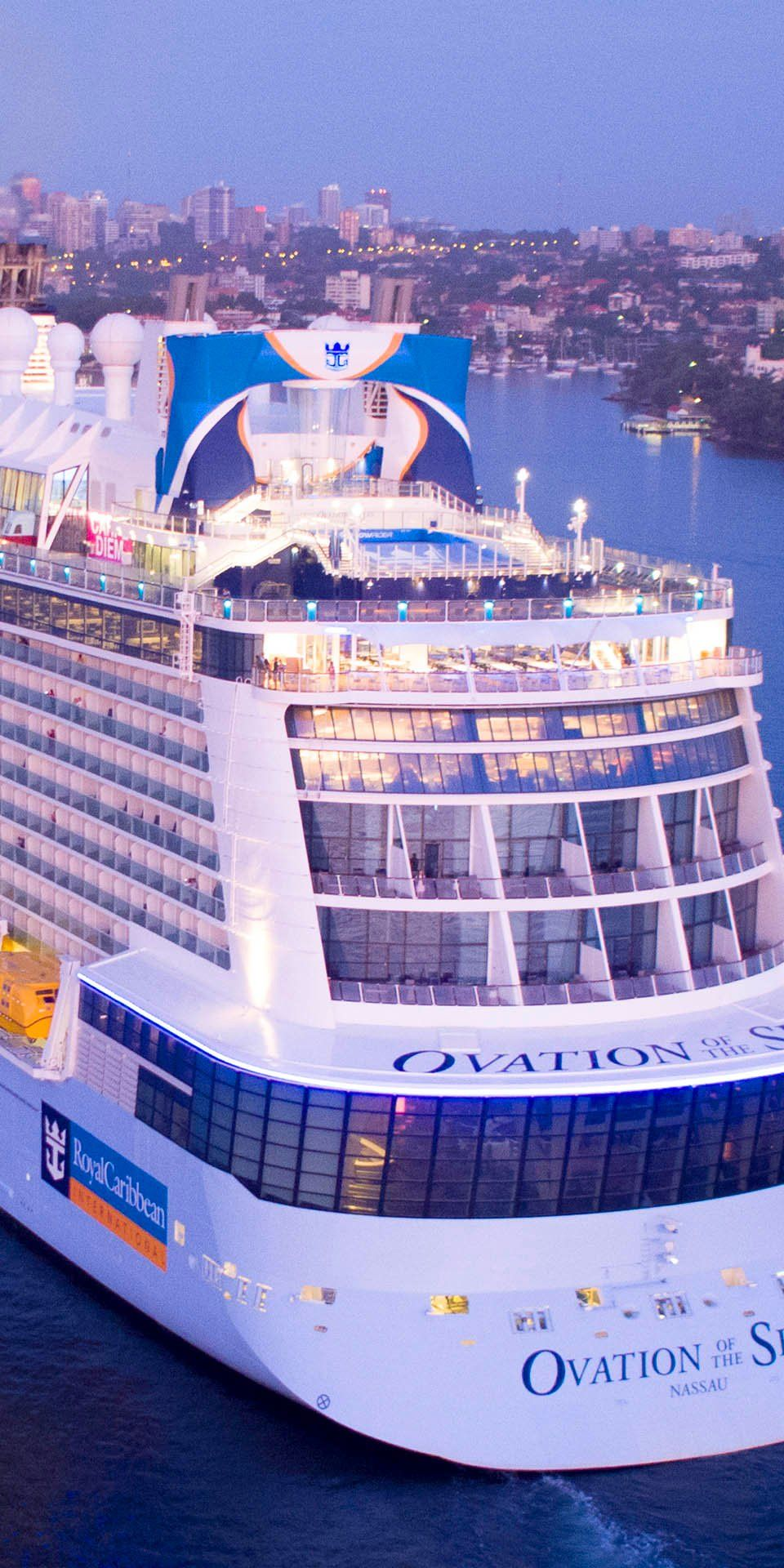 Ovation Of The Seas Start Your Awesome Aussie Adventure Arriving In Style Aboard Ovation Of The Sea Cruise Ship Carribean Cruise Royal Caribbean Cruise Lines
