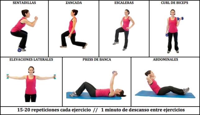 Que ejercicios puedo hacer para bajar de peso en casa