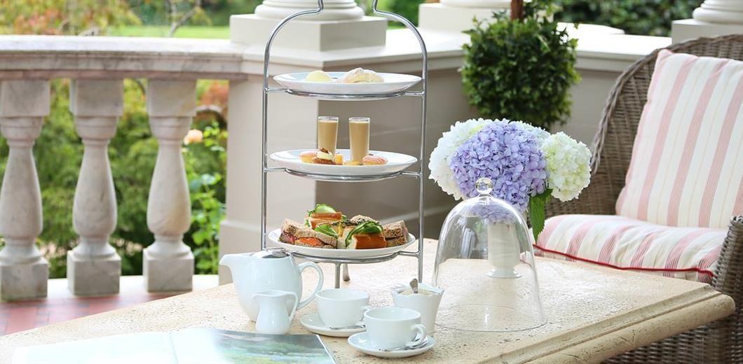 terrace-high-tea. Milto Park Bowral