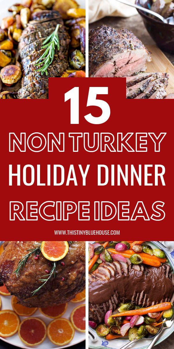 Alternative Christmas Dinner Ideas.15 Holiday Alternatives To Turkey Thanksgiving Recipes And