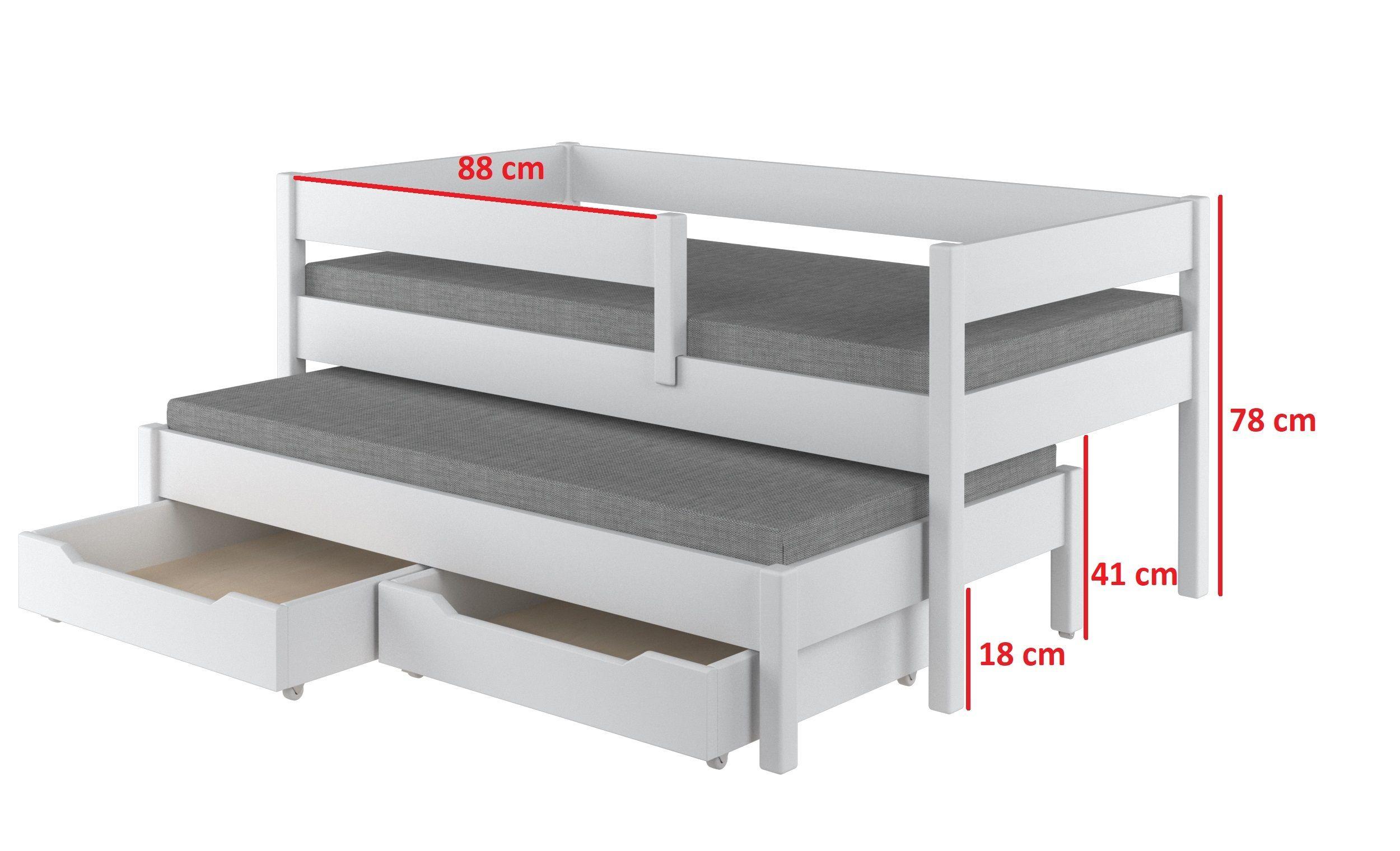 Jula Tandembett Kinder Bett Kinderbett Doppelbetten