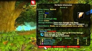Creature Detector And Pet Battle Hud Via Youtube Zygor Guides
