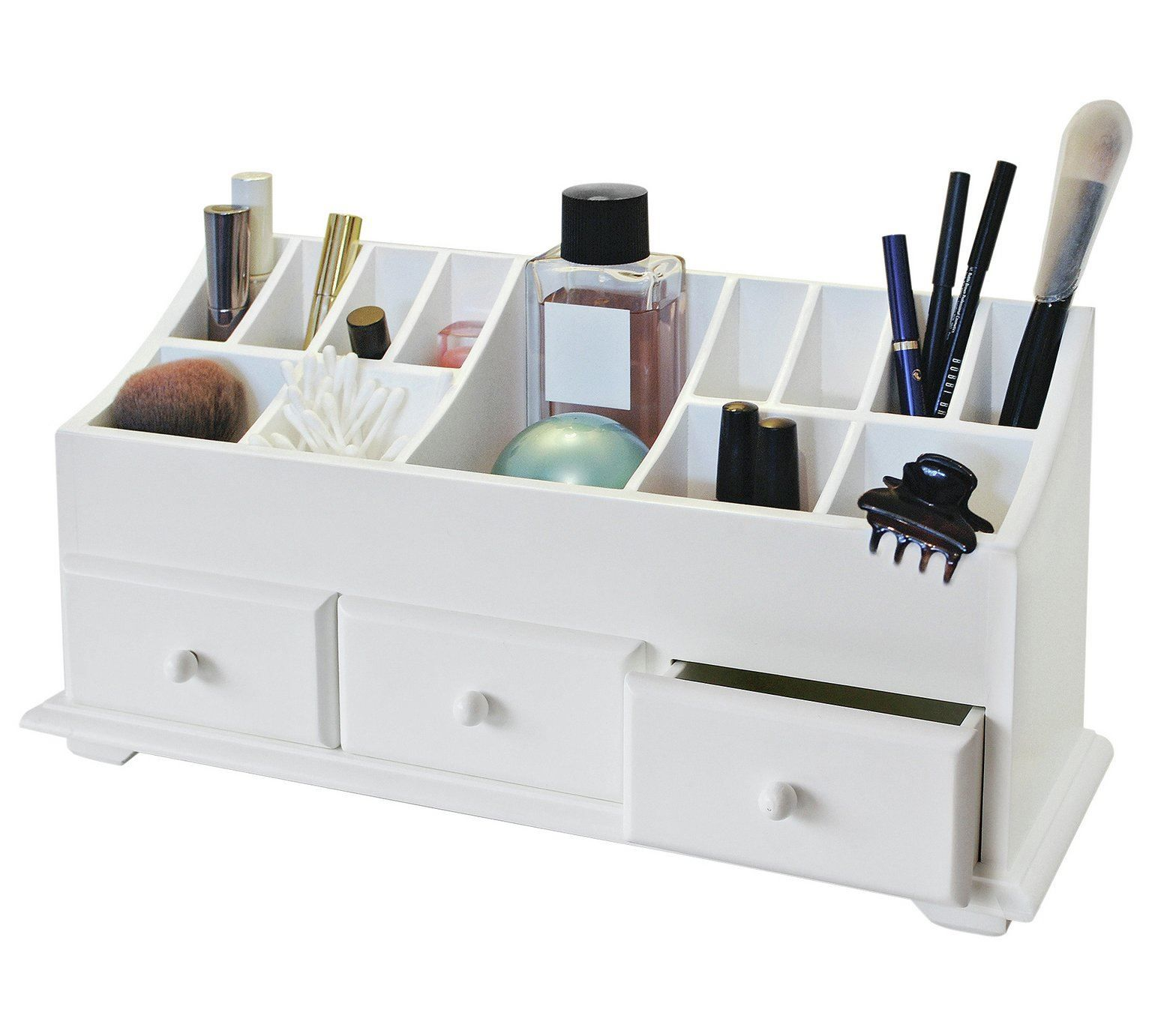 53 Reference Of Desk Organiser Drawers Argos In 2020 Cosmetics Caddy Desk Organization Drawers