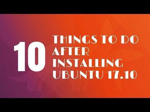 install ubuntu 17 10