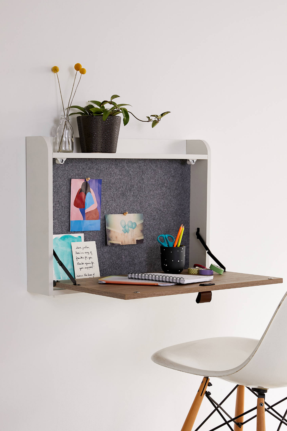 Rooney Wall Mounted Desk Wall Mounted Desk Desks For Small Spaces Fold Out Desk