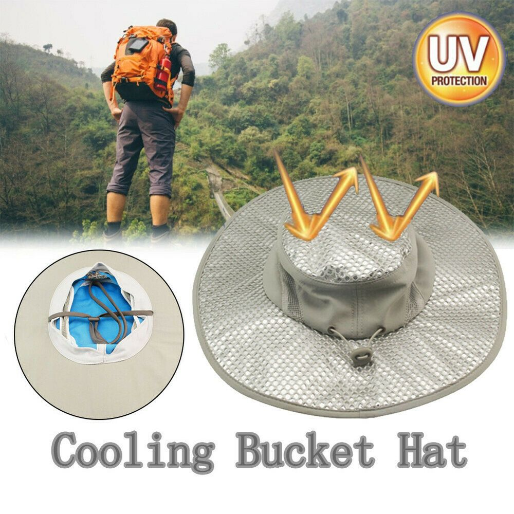 Sponsored Ebay Hydro Cooling Bucket Hat Arctic Hat With Uv