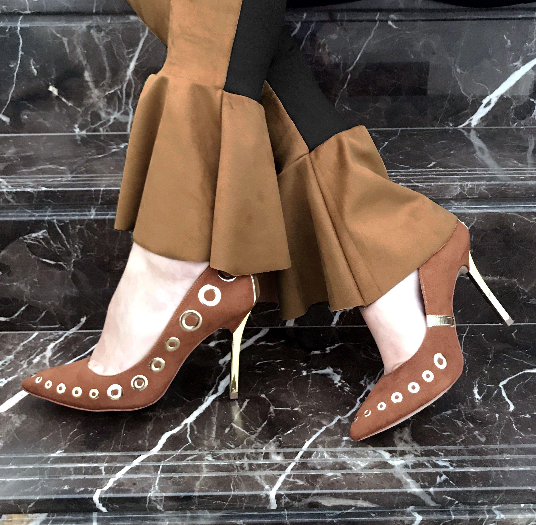 3e7b10fb6 Scarpin Caramelo Carmen Steffens | Carmen steffens chic | Shoes ...