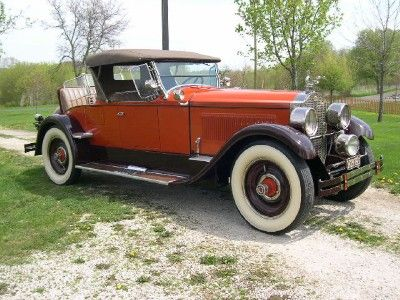 1925 Packard Sport Roadster