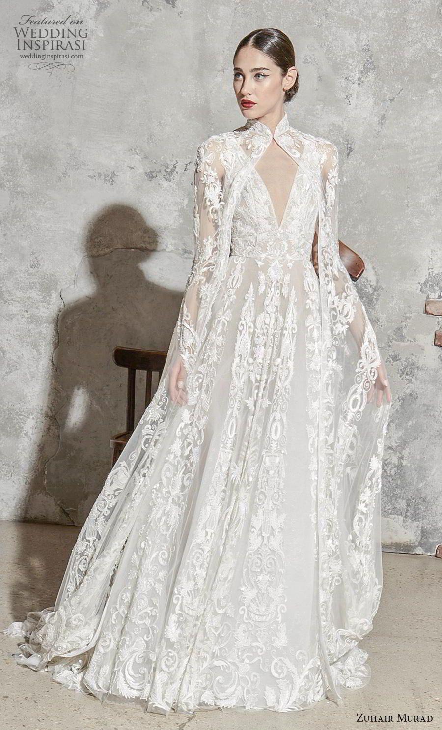 Zuhair Murad Spring 2020 Wedding Dresses Wedding Inspirasi Wedding Dress Trends Zuhair Murad Bridal Winter Wedding Dress [ jpg ]