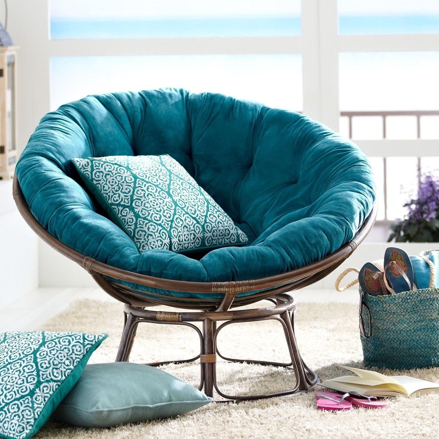 Cozy Double Papasan Chair Frame Rattan