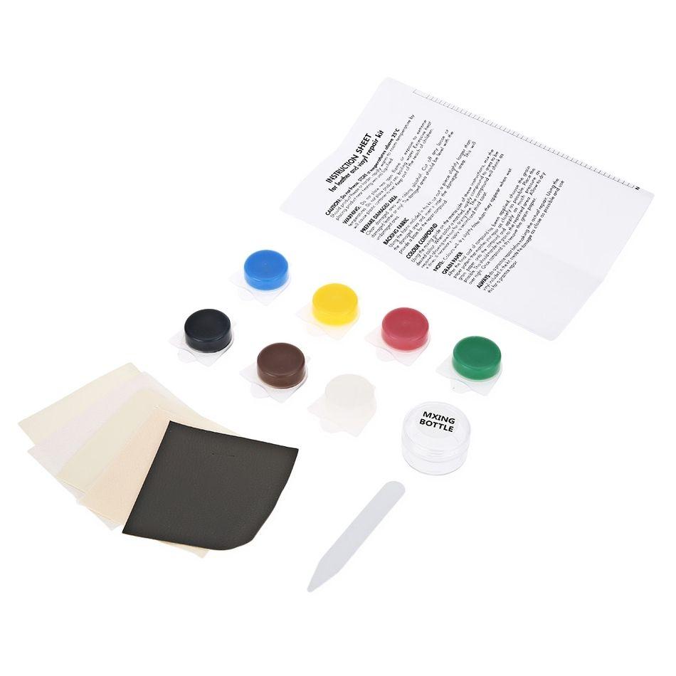 Auto Car Seat Sofa Crack Rip No Heat Liquid Leather Vinyl Repair Kit
