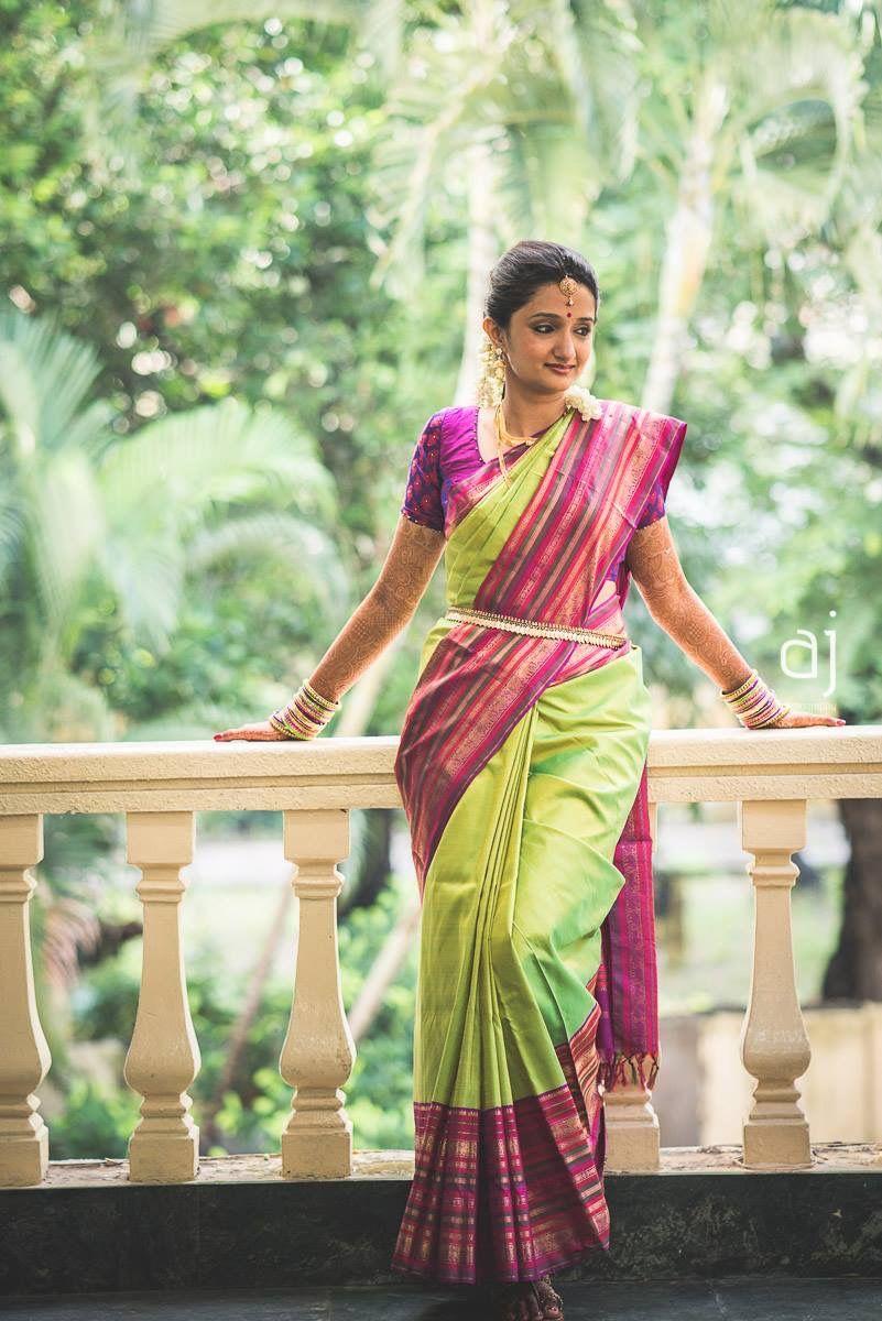 Kerala wedding reception dresses for the bride  Pin lisääjältä Chand Pavithra taulussa Indian attire  Pinterest