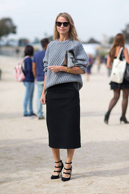 1000+ images about Sweater and Skirt Style on Pinterest