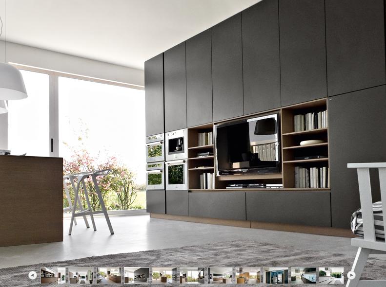 Full Height Cabinets Kitchen Design Trends Contemporary Kitchen Design Ceramic Tile Floor Kitchen