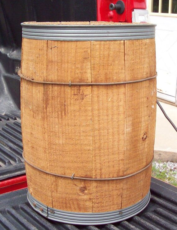 Vintage Wooden Barrels Nail Keg Barrels NEVER USED from nail factory ...