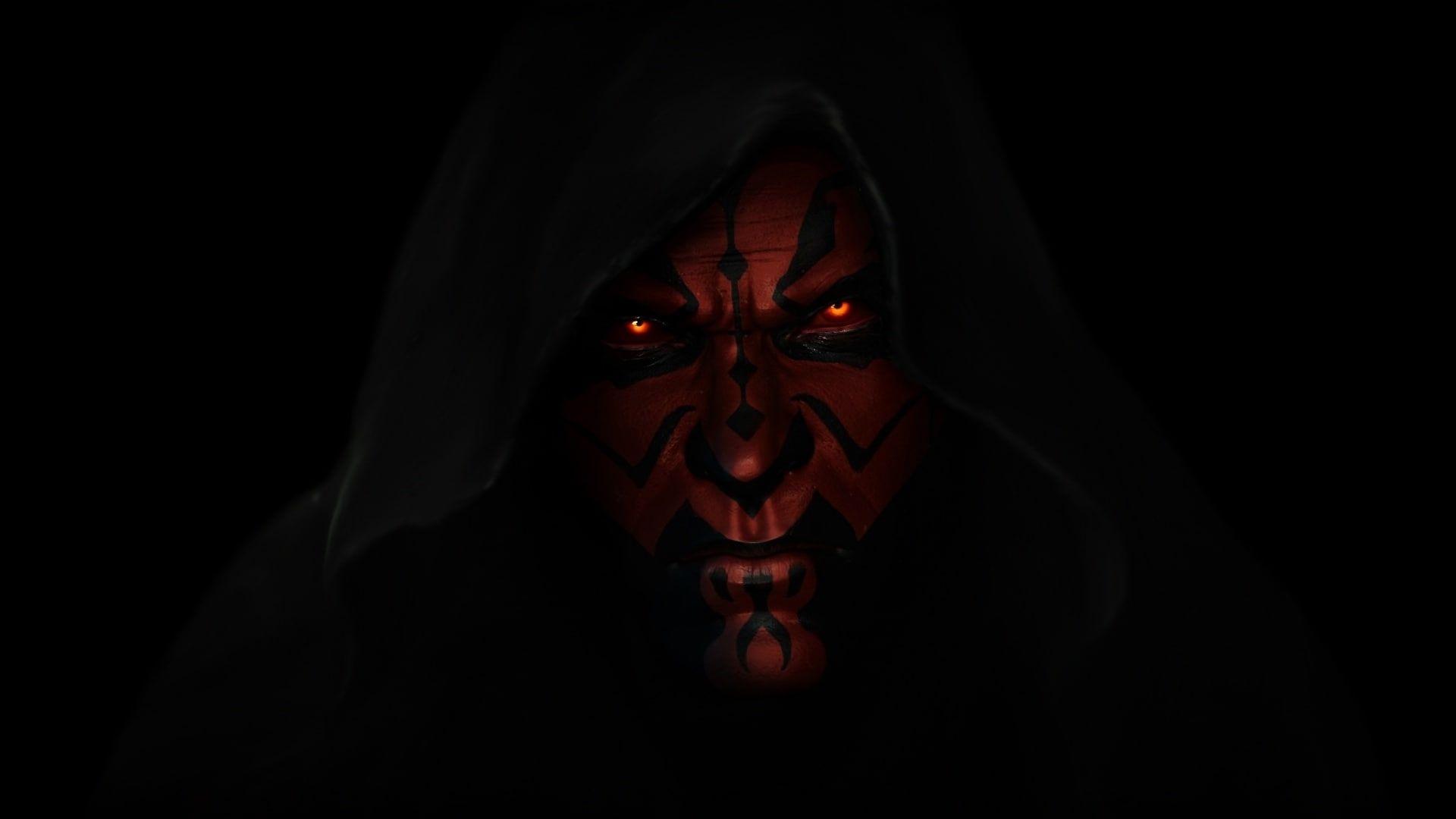Person Wearing Hood Wallpaper Star Wars Darth Maul A Sith Lord Wallpaper Hood Wallpapers Darth Maul Wallpaper Darth Maul
