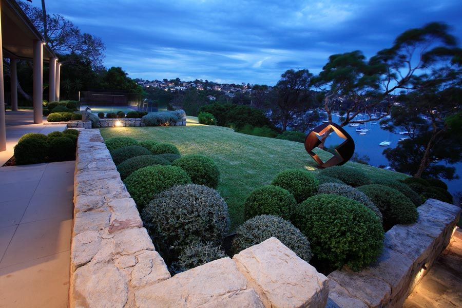 Longueville Garden on North Shore of Bay of Sydney by Secret