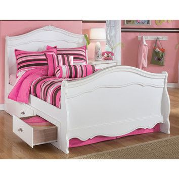 Signature Design by Ashley Lydia Storage Sleigh Bed