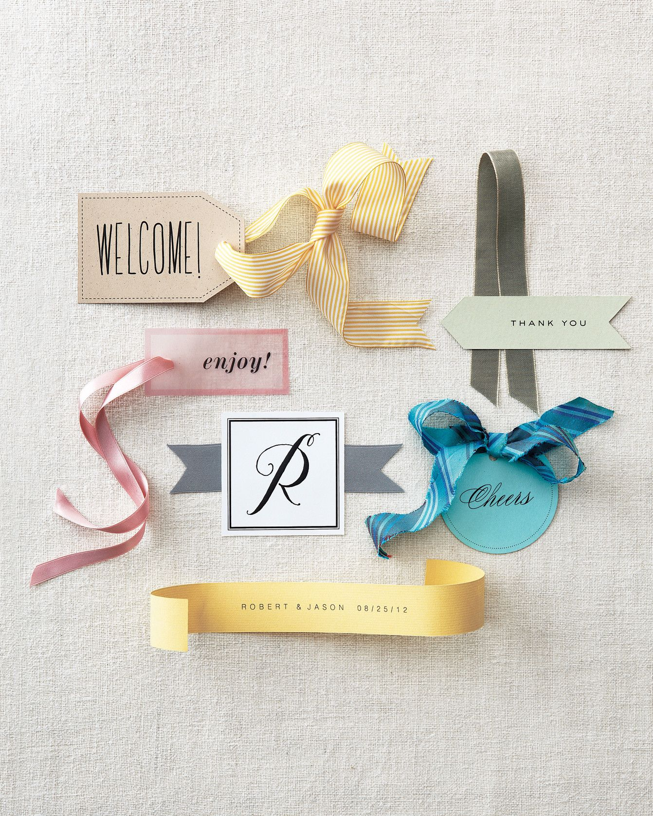 From welcome bags to farewell favors, every gift you give guests can ...