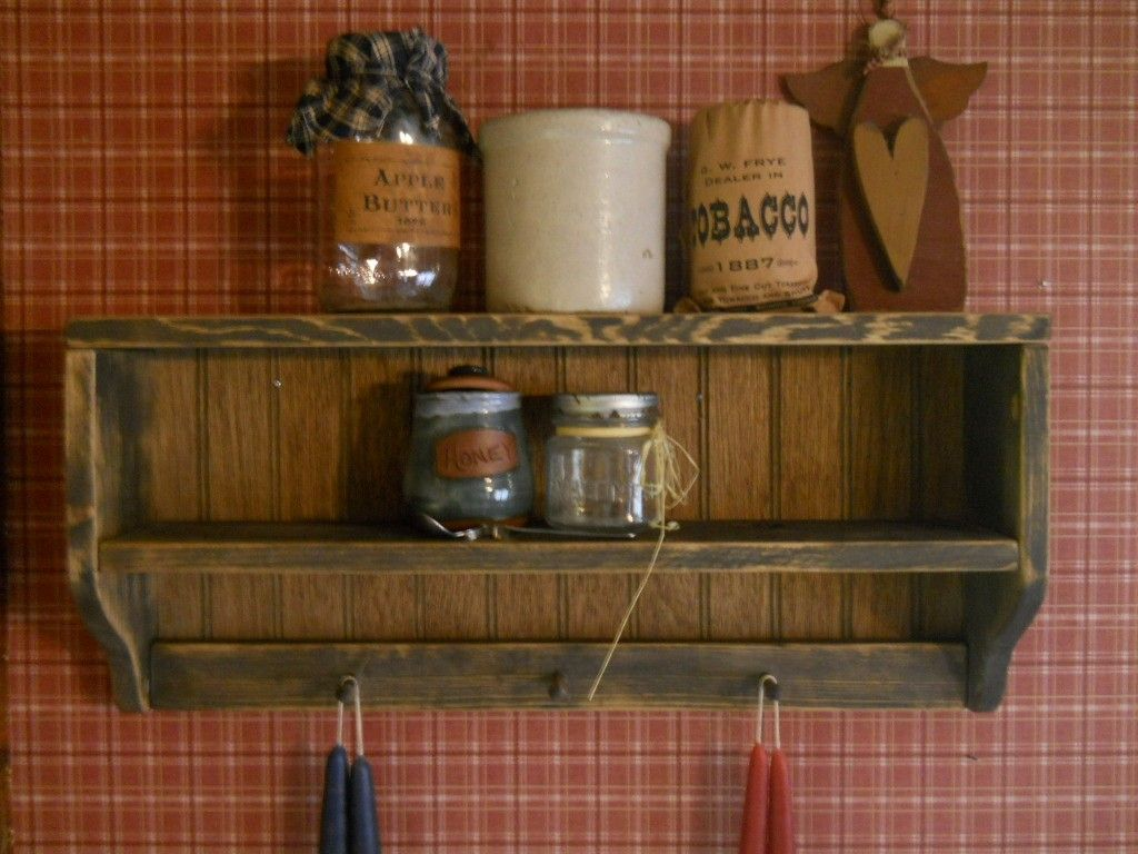 Bathroom Wall Shelf Bronze Best 25+ Primitive shelves ideas on Pinterest | Prim decor ...