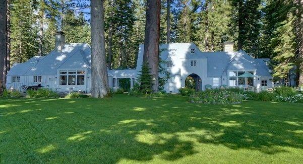 Lake Front Carousel House Sleeps 21 In Sunnyside Tahoe City