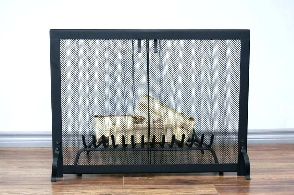 Courageous Fireplace Screen Curtain Photographs Elegant Fireplace
