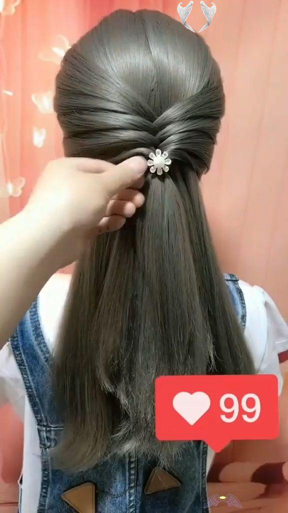 Leaving Facebook Very Attractive Hairstyle For Long Hair Mind Blowing Hairstyle For Long Hair Length Br I 2020 Flatade Frisyrer Frisyrideer Flata Har Steg For Steg
