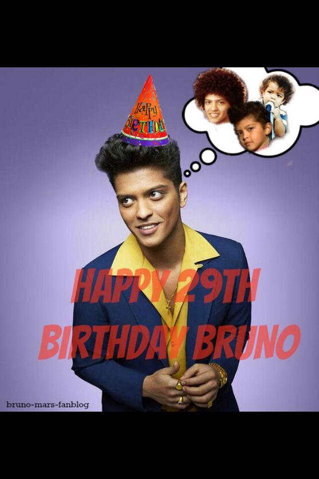 It's My Birthday Bruno Mars : birthday, bruno, HAPPY, BIRTHDAY, BRUNO, MARS!!!!, Bruno, Mars,, Bruno,