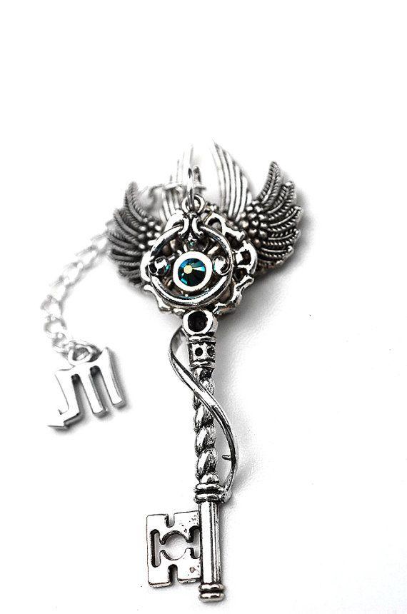CONGRATS GRADS Zodiac Key Necklace by KeypersCove on Etsy