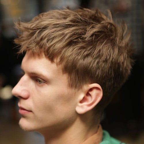 Top 25 Low Maintenance Haircuts For Men 2021 Guide Haircuts For Men Low Maintenance Haircut Mens Messy Hairstyles