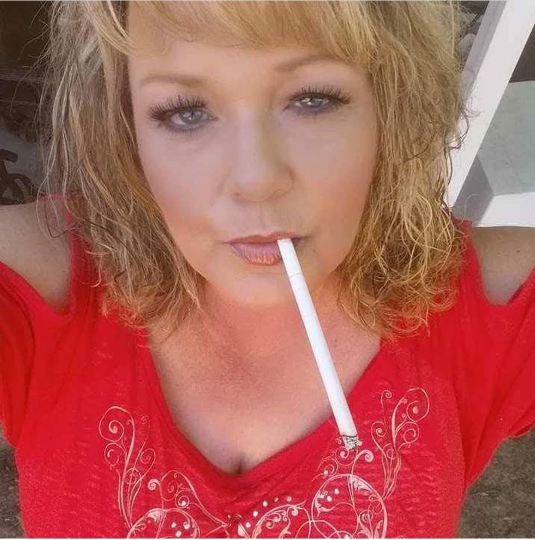 Mature women smoking-4583