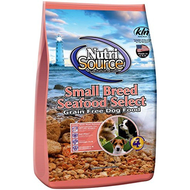 Nutri Source Small Breed Seafood Select Gf Dog Food 15 Lb You