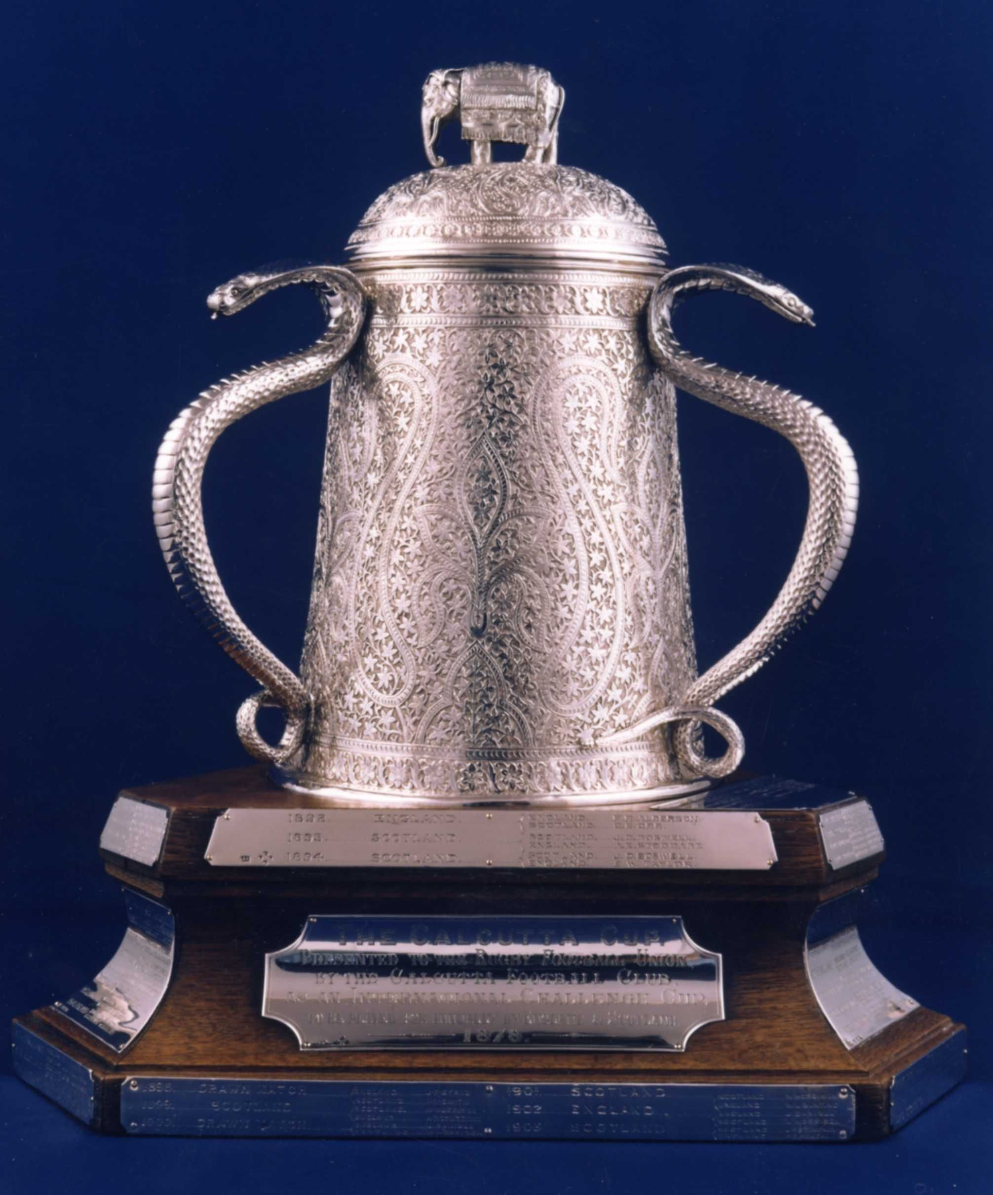 The Calcutta Cup It S Very Old And Is Awarded To Winner Of The England V Scotland Rugby Union Match Played Scotland Rugby Scottish Rugby England Rugby Union