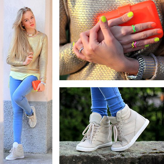 FLUO AND GOLD BY DARYA K 23 YEAR OLD FASHION BLOGGER INTERIOR DESIGNER