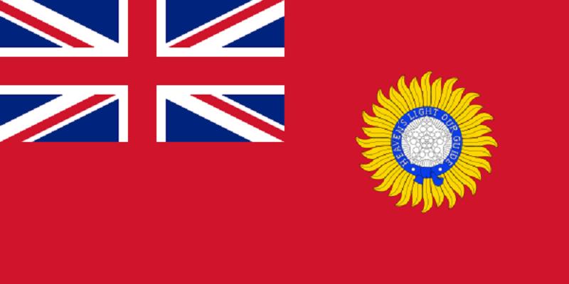 British India 1880 1947 Indian Flag History Historical Flags India Flag