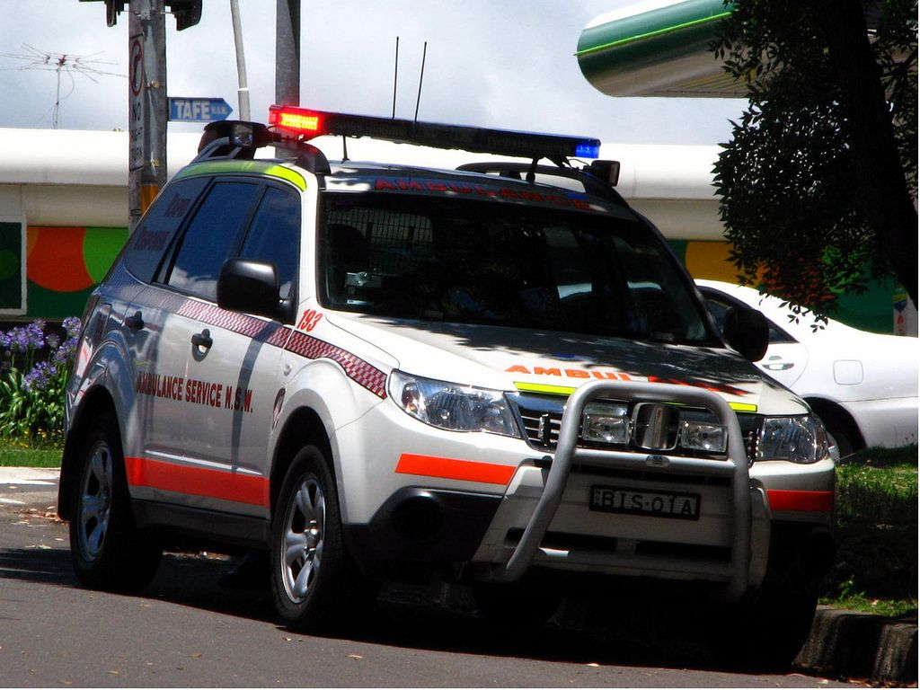 NSW Ambulance Service Subaru Forester AWD Rapid Response