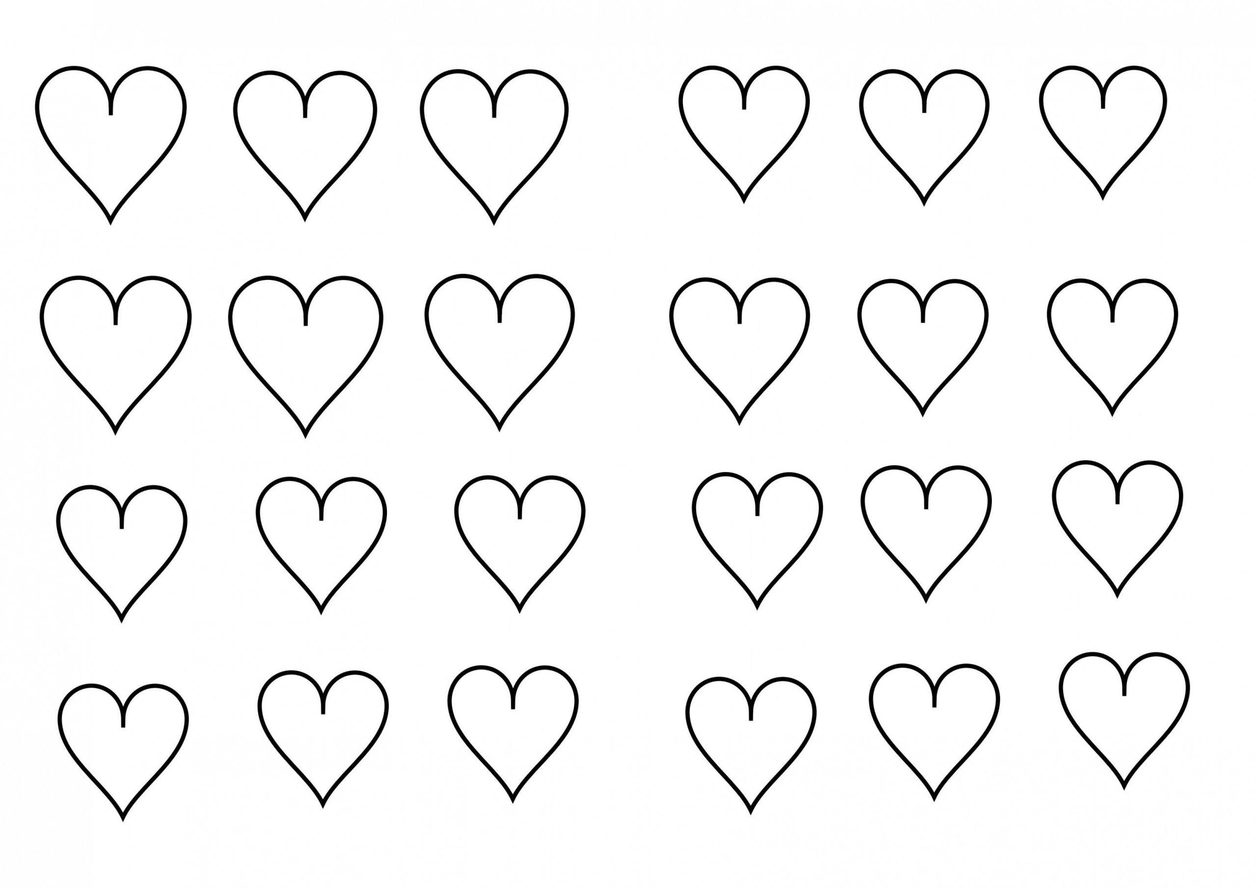 14 Simpliste Coeur Coloriage Images Coloriage Coeur Dessin De Coeur Coeur A Colorier