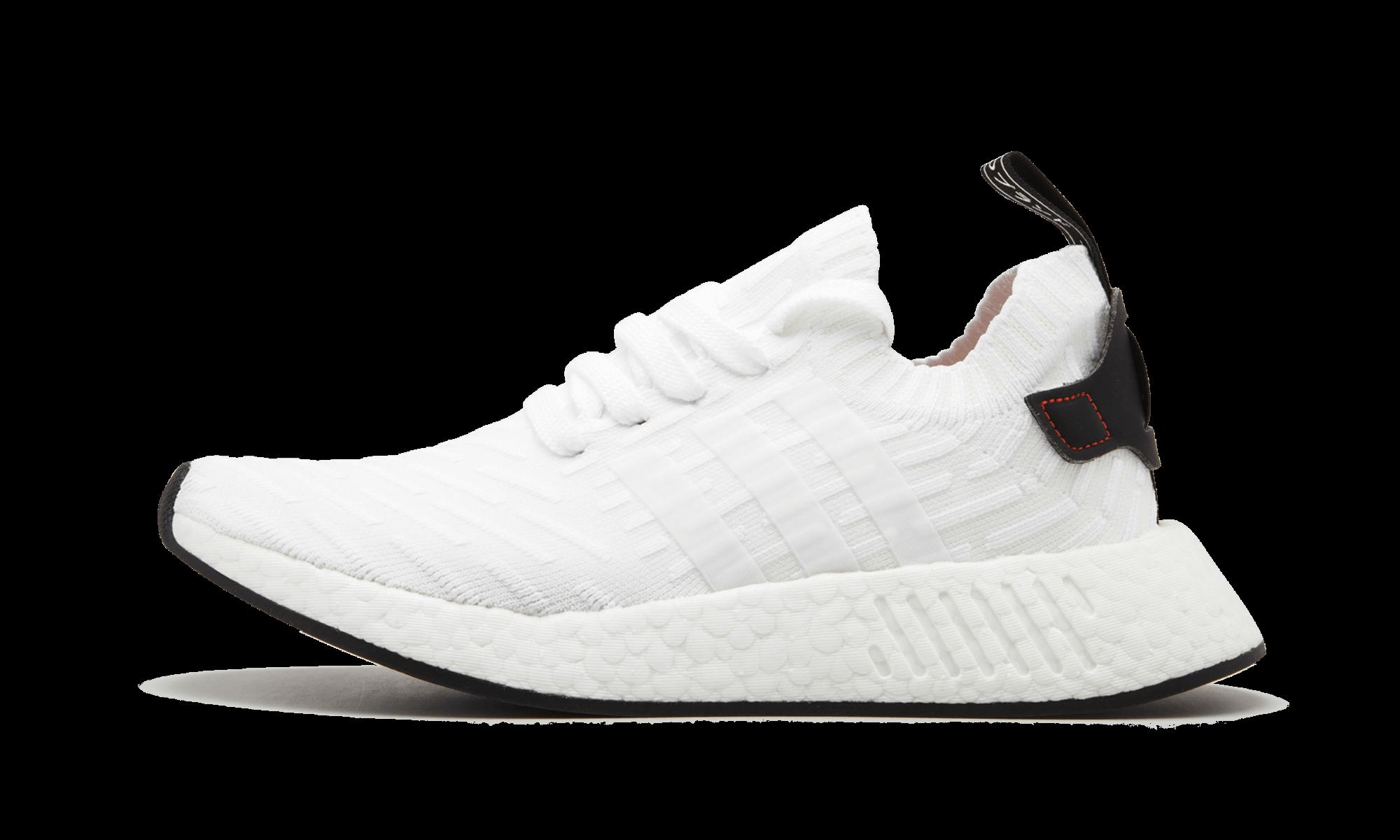 Adidas Herren NMD R2 PK Runner Schwarz Weiß BY3015