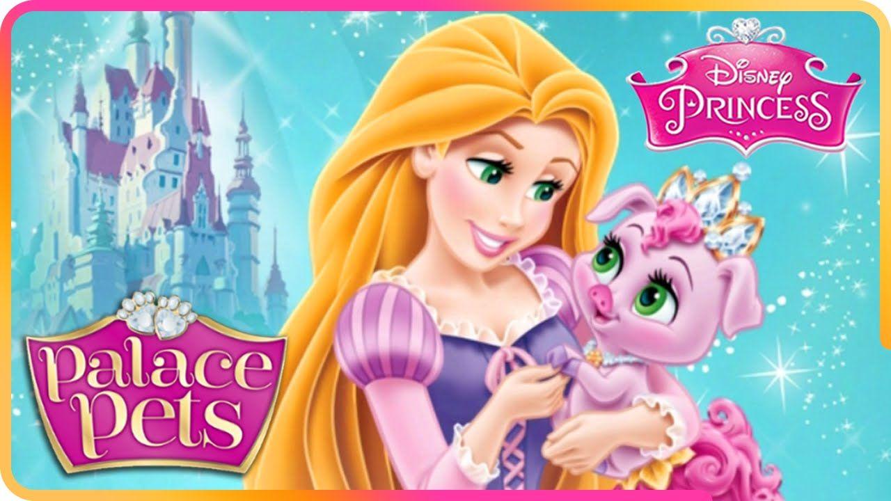 Pin By Llitastar On Princesa Rapunzel Disney Princess Palace Pets Princess Palace Pets Disney
