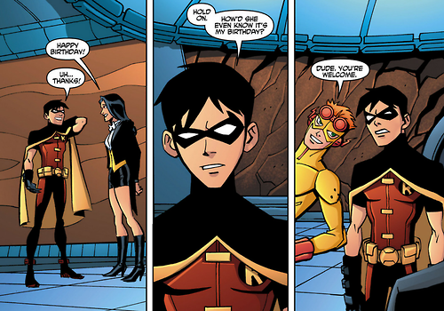 Young justice fanfiction nightwing and zatanna