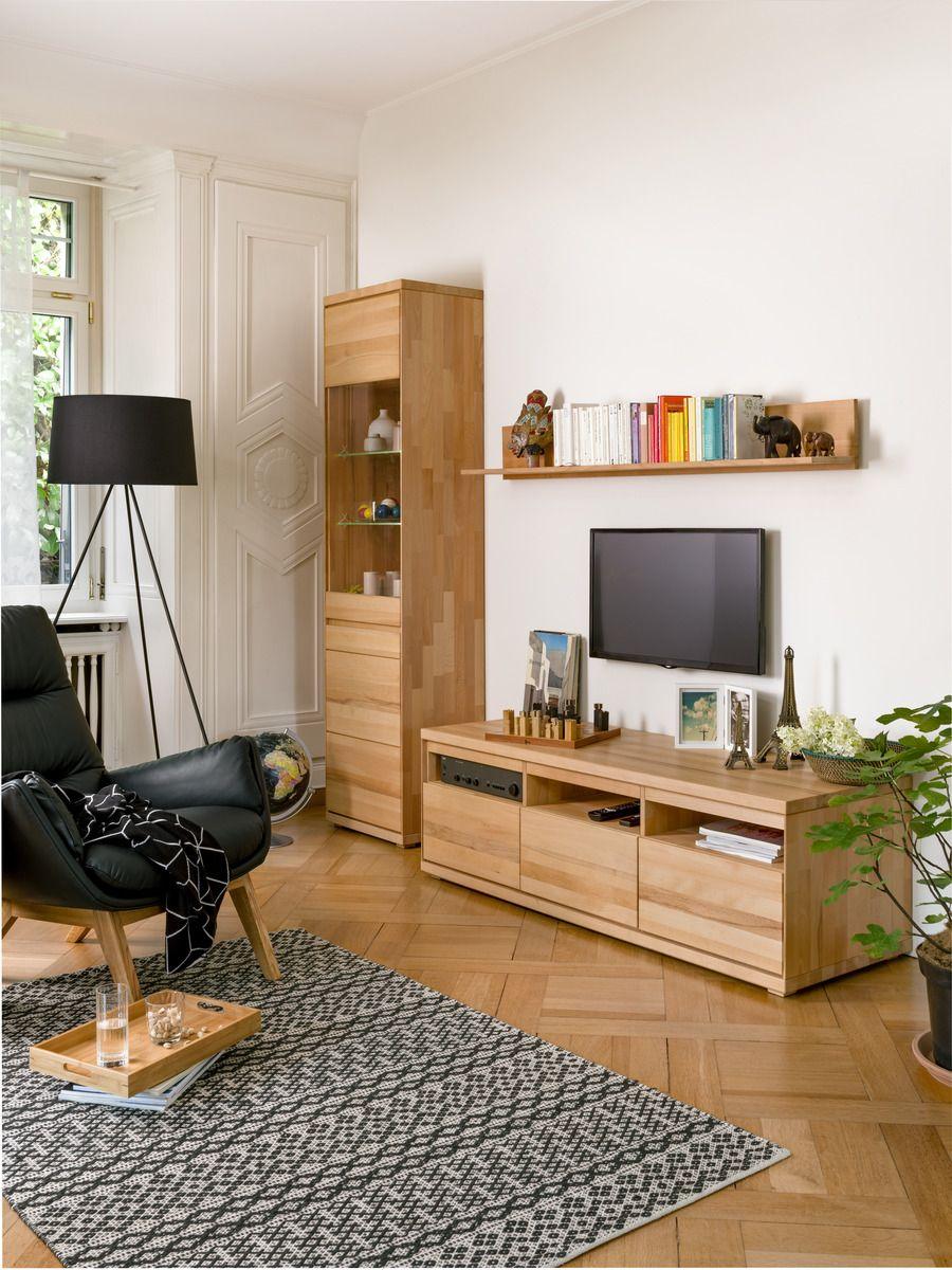 Micasa Wohnzimmer Mit Wohnprogramm Oswald Und Stehleuchte Rita