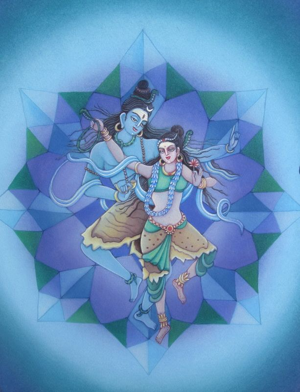 Cosmic dance of Shiva and Shakti