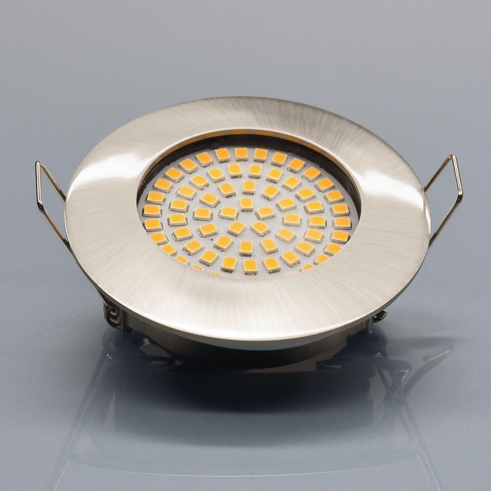 Details Zu 6x Einbaustrahler Set Aluminium Einbauleuchte